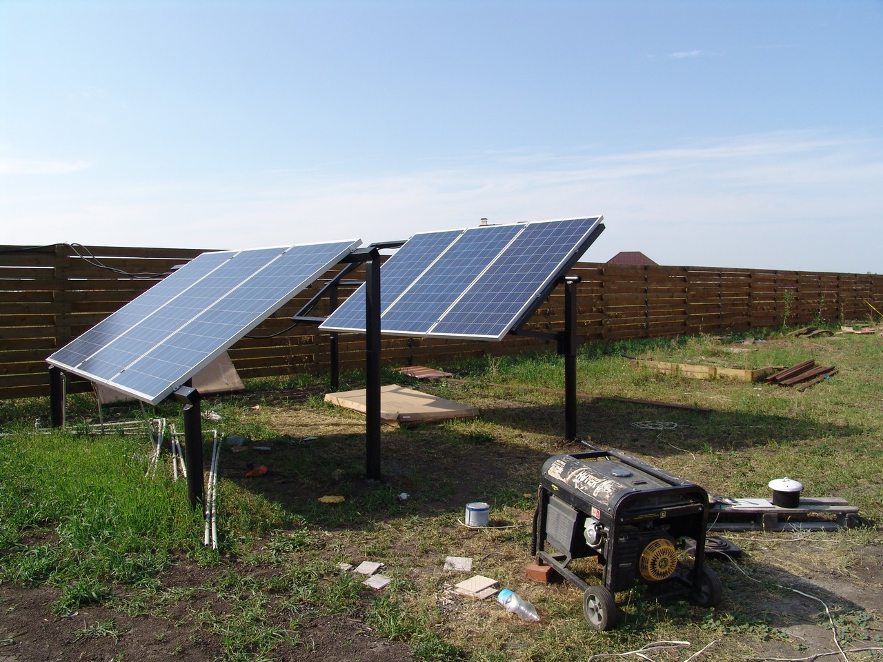 солнечные батареи 300 ватт 24В Поли