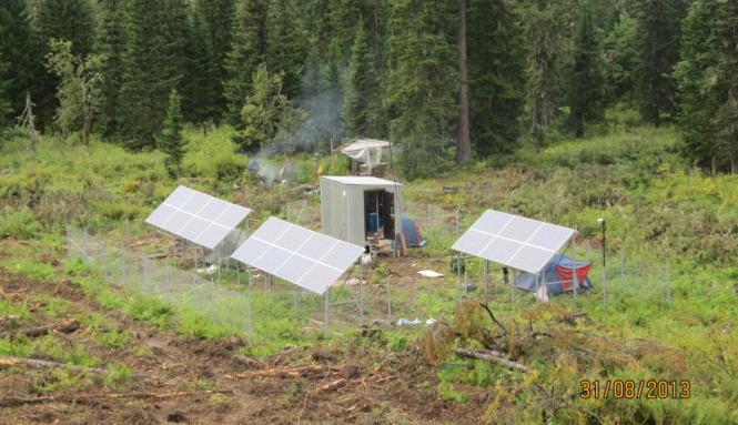 солнечная электростанция на основе солнечных модулей Exmork