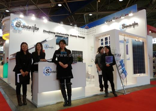 стенд компании Sunny Energy во Франции