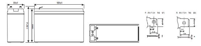 аккумулятор HR 1224W