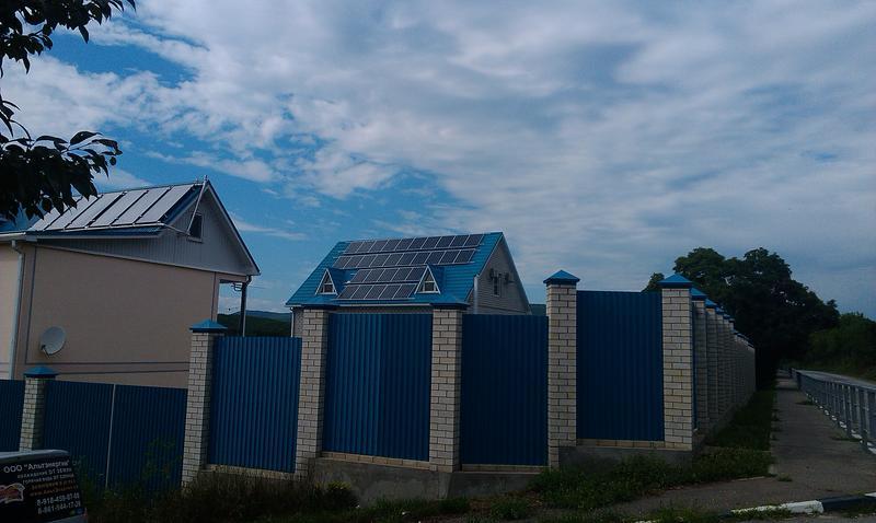 солнечная электростанция Анапа