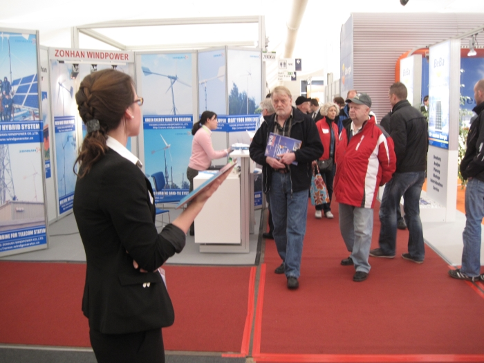 Zonhan На выставке в Германии