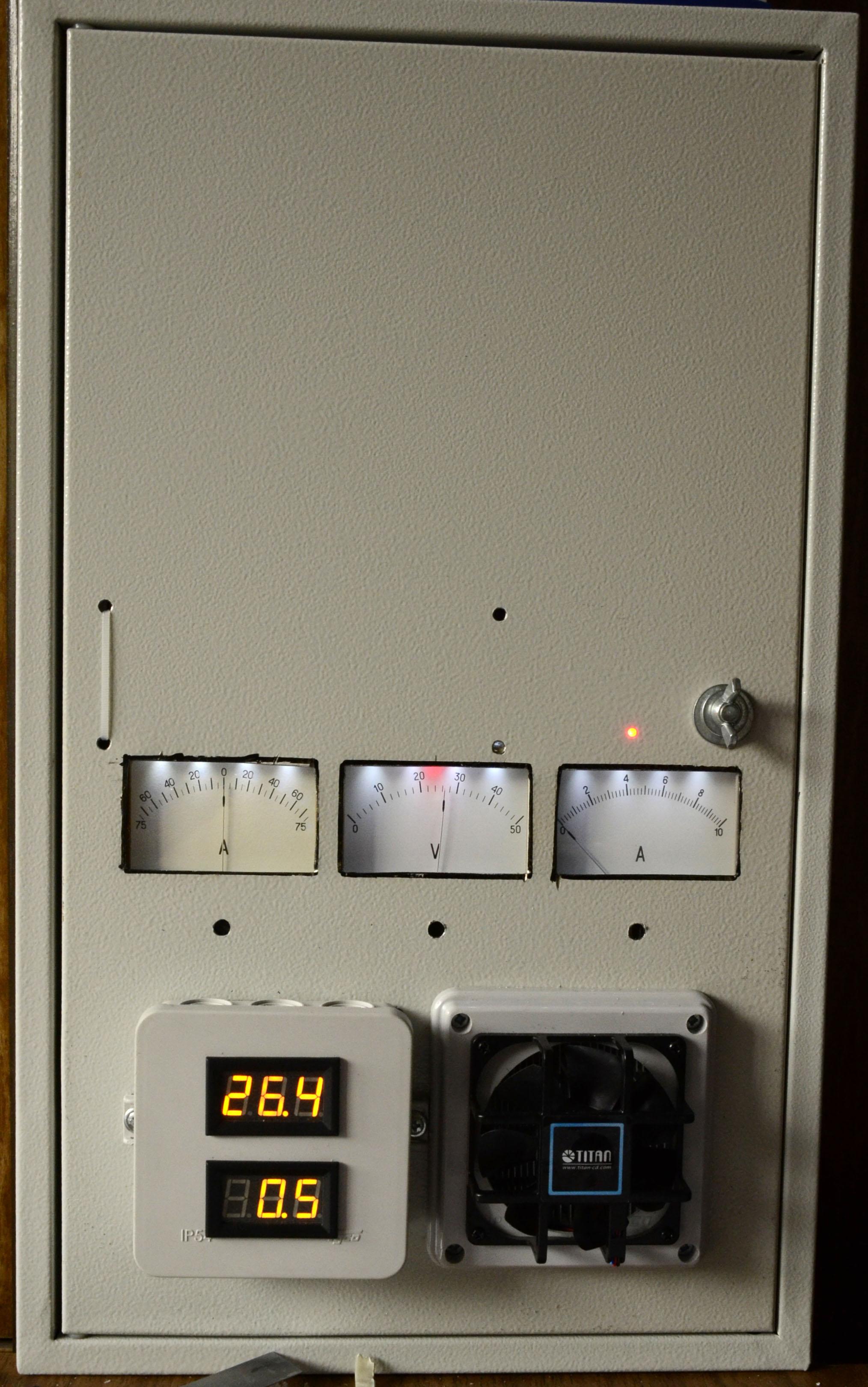 шкаф управления солнечные батареи