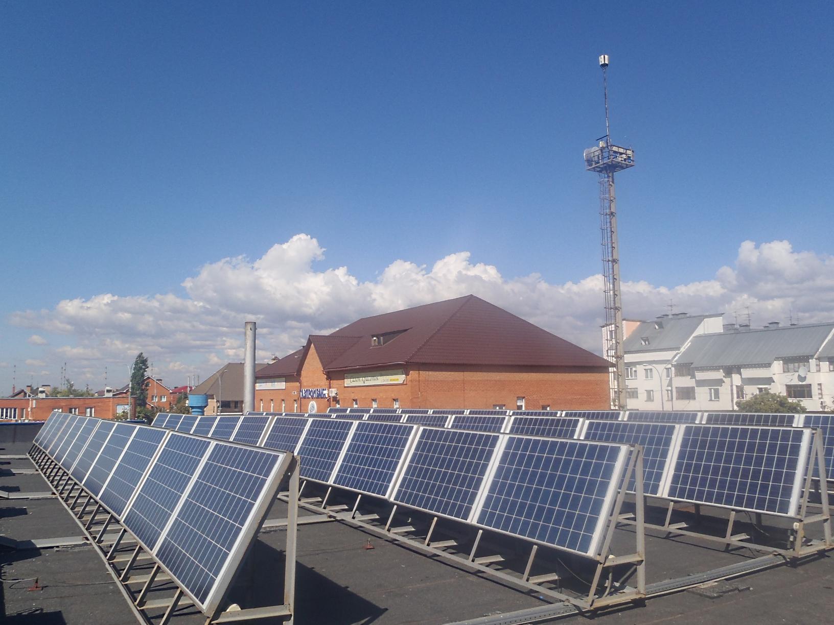 Газпром солнечные батареи