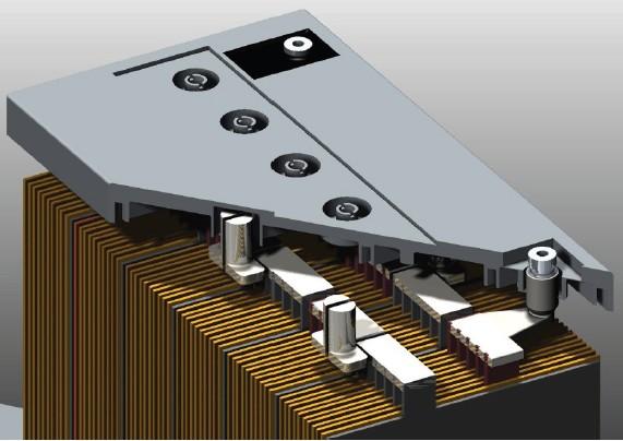 гелевый аккумулятор HAZE в разрезе