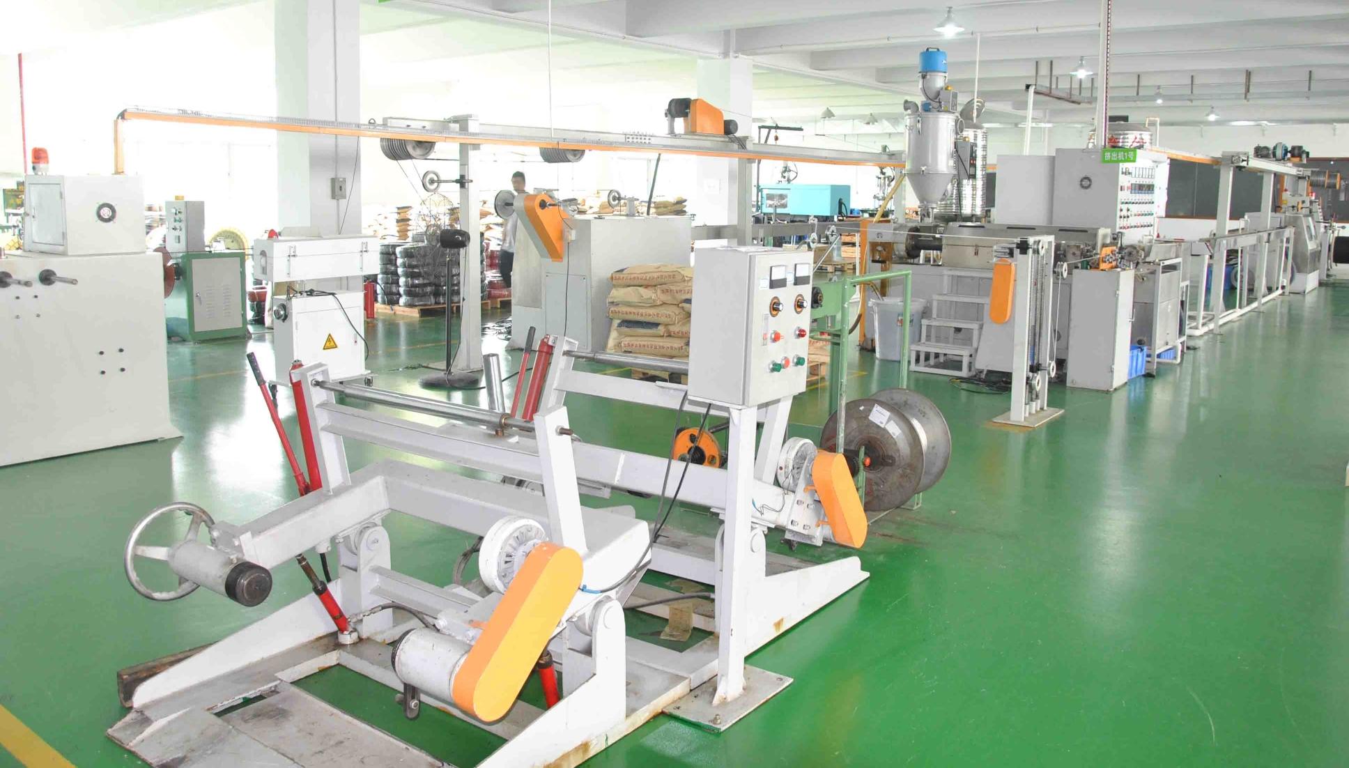 установленное оборудование на фабрике Slocable
