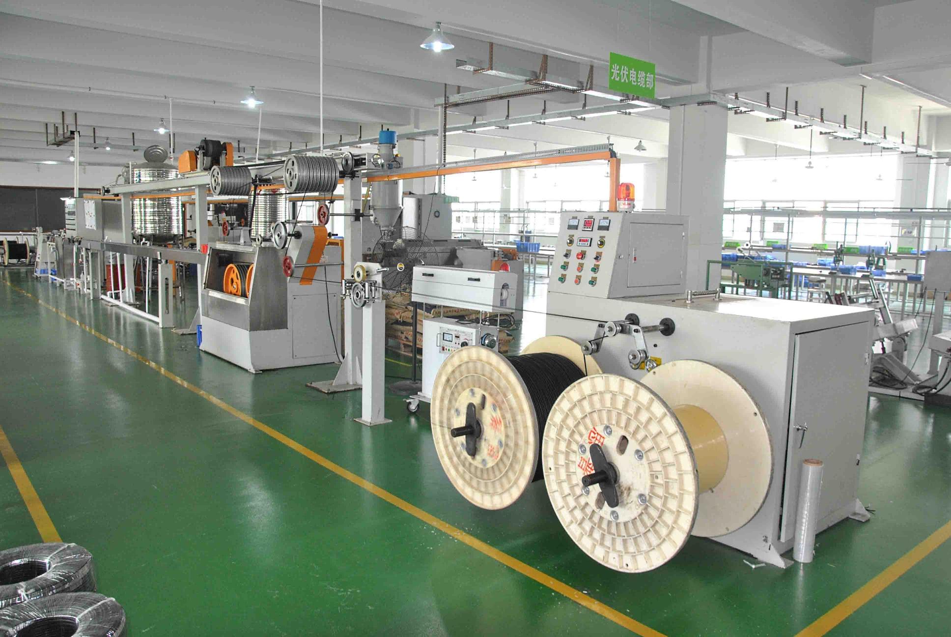 оборудование на фабрике Slocable