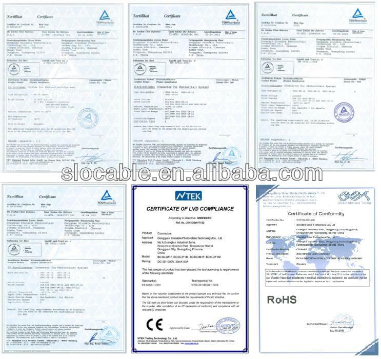 сертификаты Slocable