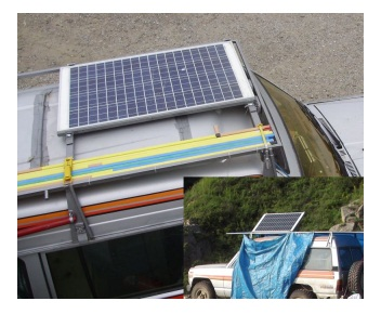 солнечная батарея на автомобиле