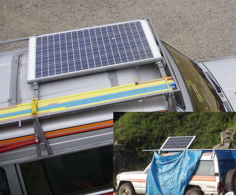 солнечная батарея на море