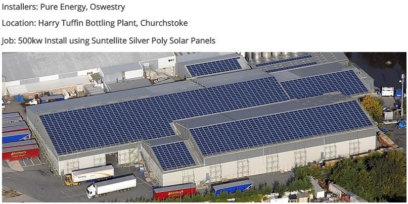 солнечные батареи Suntellite, Великобритания