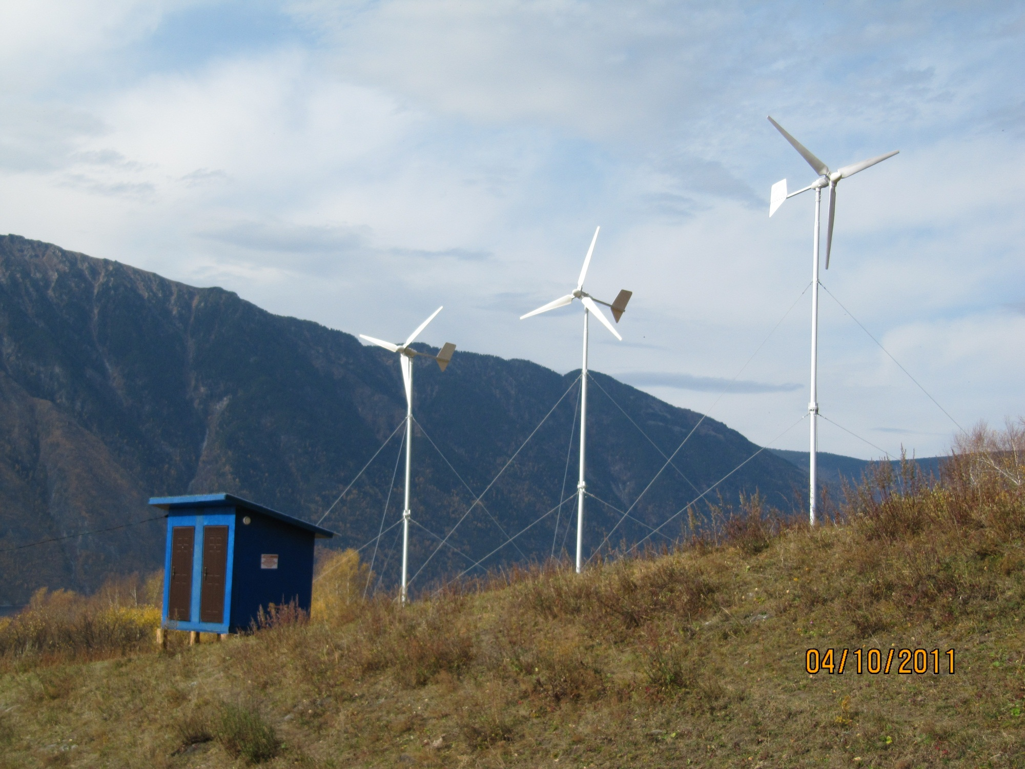 ветрогенератор в Республике Алтай