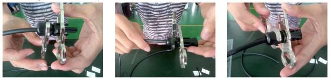 как использовать ключ для коннектора MC4