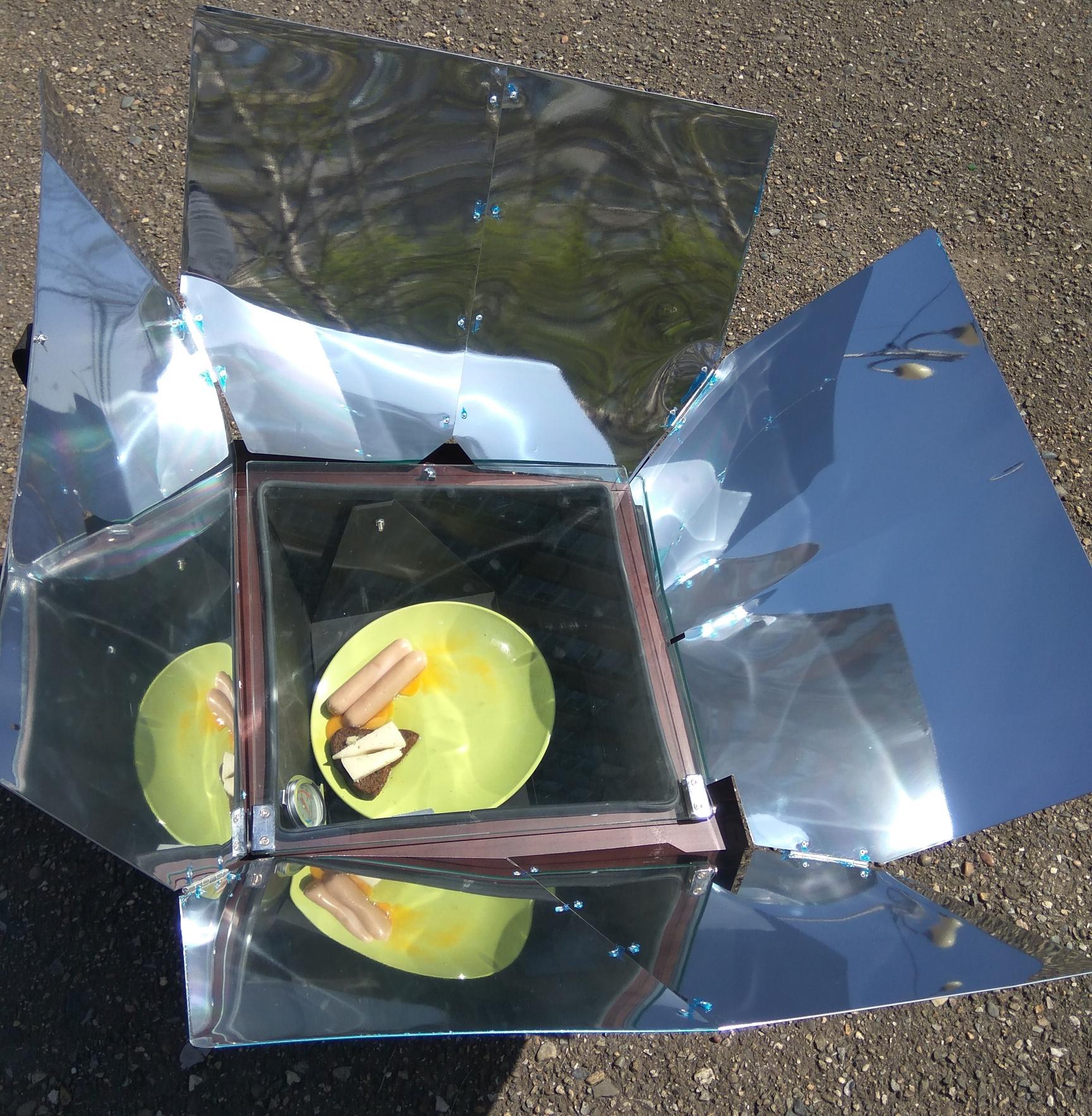 духовка на солнечных батареях