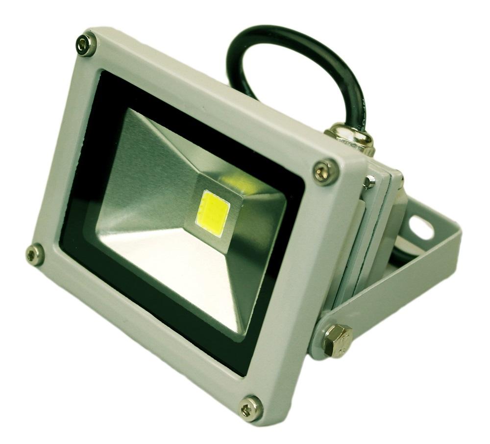 светодиодный прожектор 12В 10 ватт