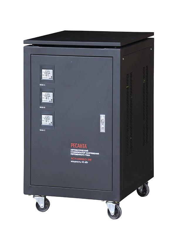 Стабилизатор трехфазный АСН 45000/3 ЭМ