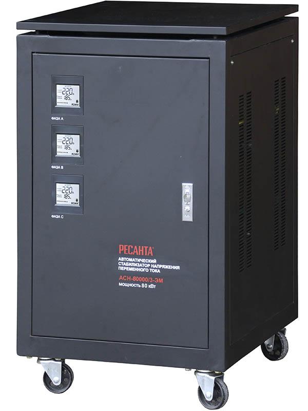 Стабилизатор трехфазный АСН 80000/3 ЭМ